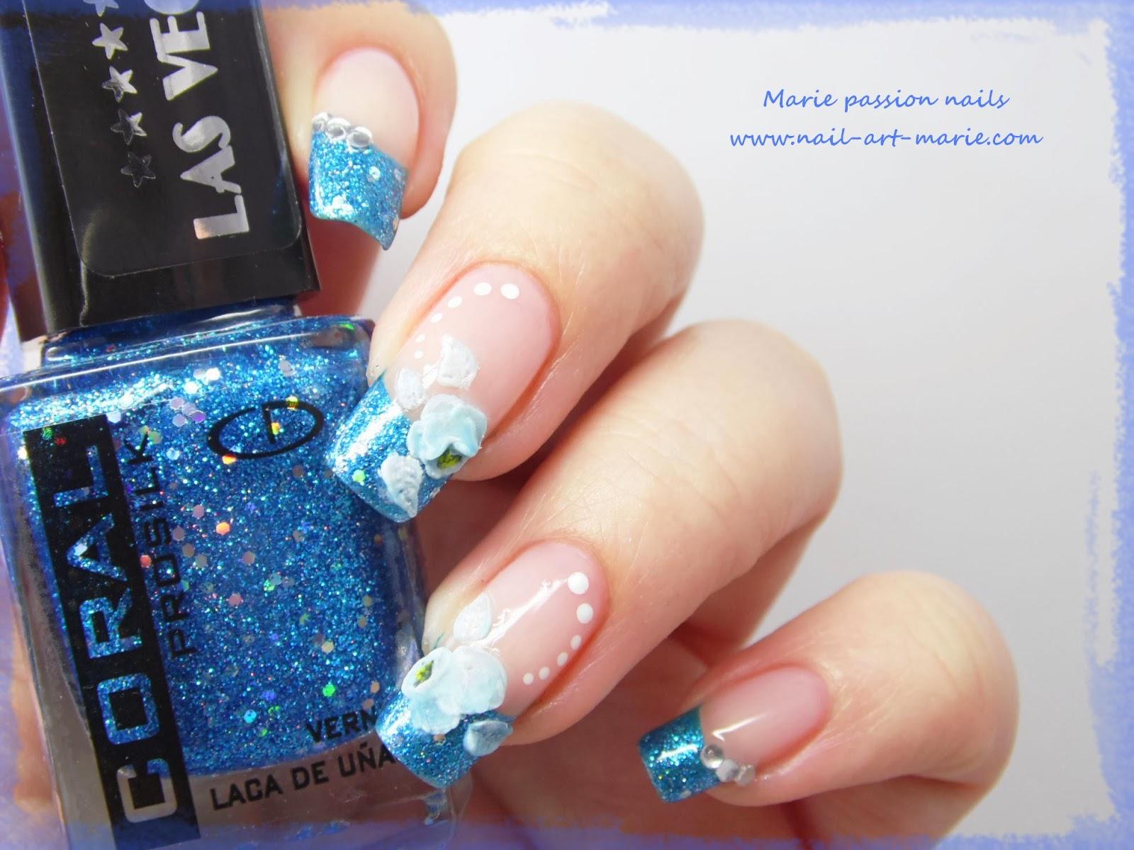Nail art reproduction de Panther Kerli8