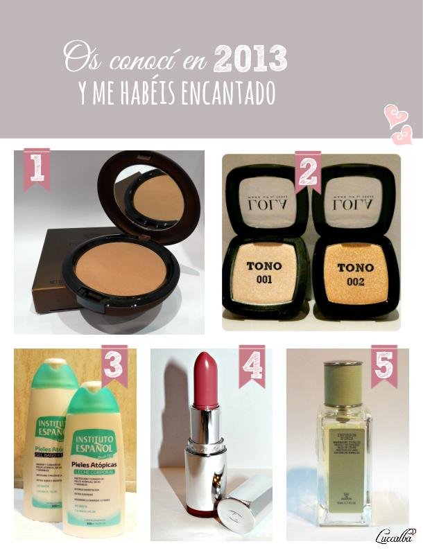cosmeticos favoritos 2013