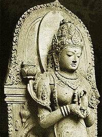 Patung Prajna Paramita