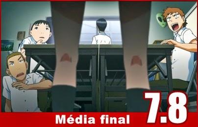 Média Final: 7.8