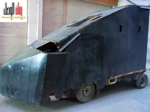 kendaraan pemberontak Suriah