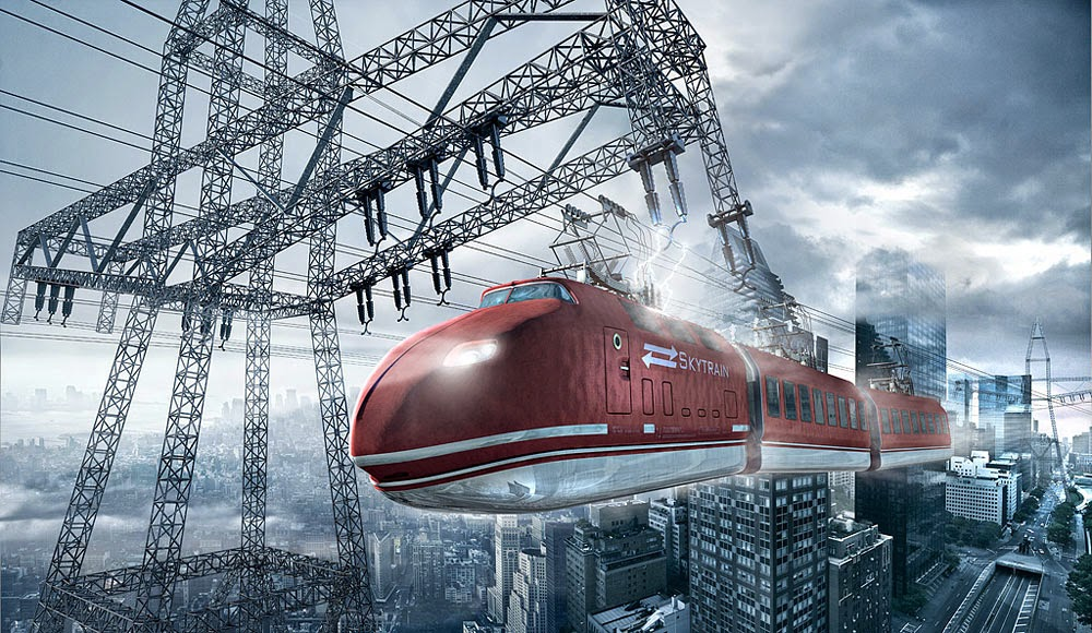 08-Sky-Train-Uli-Staiger-Photography-and-Digital-Manipulation-in-Surreal-Realities-www-designstack-co