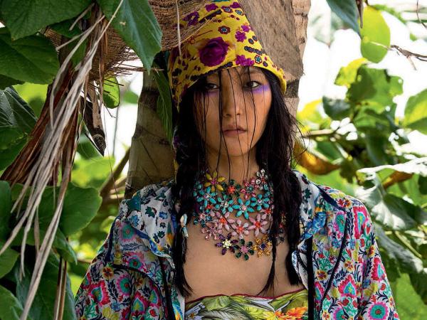 peinados 2015 pañuelos de colores