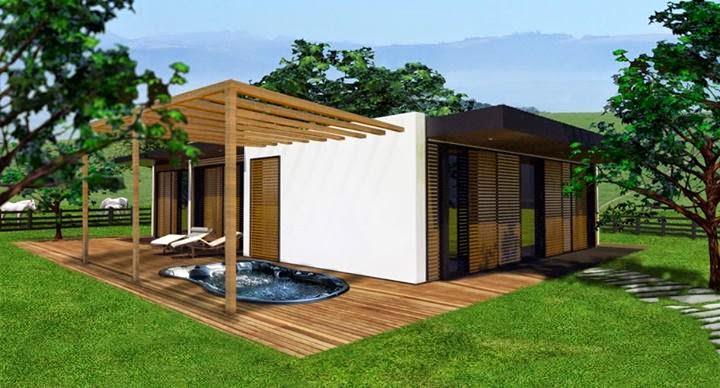 Homekit family by tecdream portugal casa modular - Casas modulares portugal ...