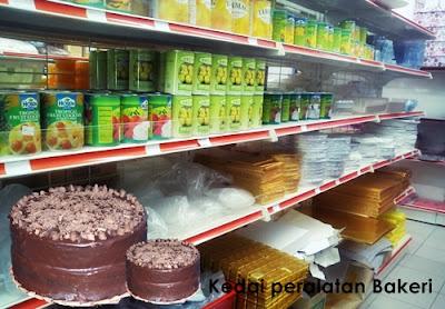 Senarai Kedai Bahan Bekalan Bakeri Malaysia