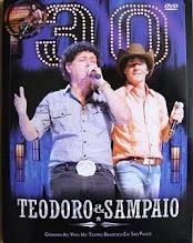 DVD - Teodoro e Sampaio 30 Anos