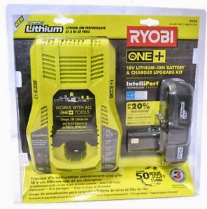 Ryobi 18 volt Lithium-Ion Battery & Charger Kit