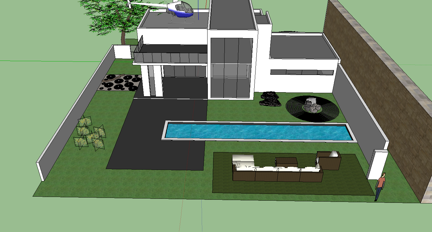 It 200 steven yang google sketchup project 3 house - Google home design ...