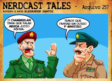 Tirinha Nerdcast Tales - por Alexander Santos