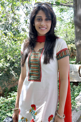 Telugu Actress Regina at Siva Manasulo Sakthi - SMS Movie Launch