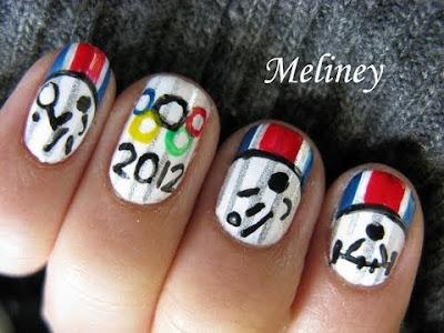olympics 2012 nails