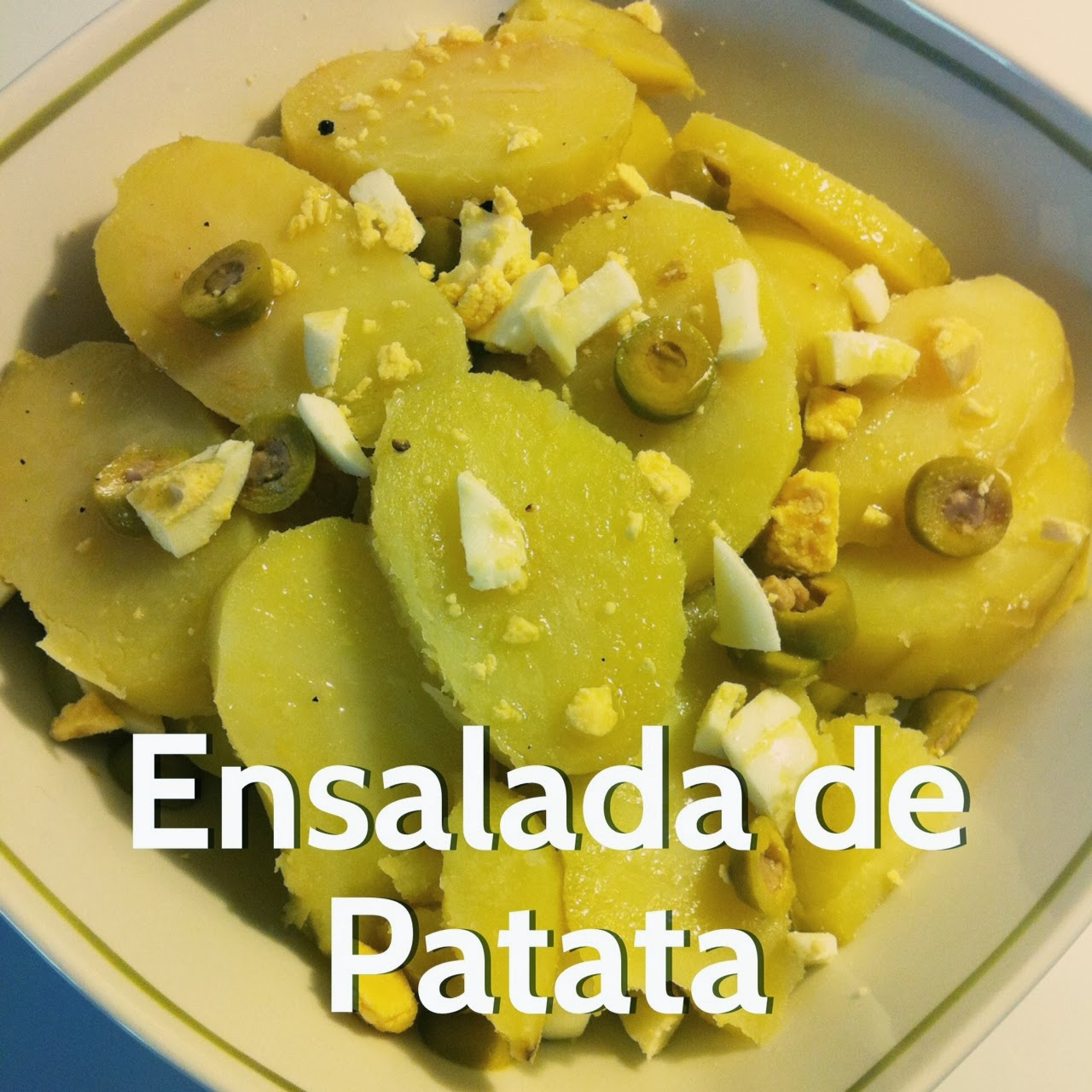 Ensalada de patata para el buen tiempo - Tiempo para cocer patatas ...