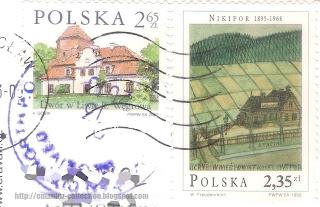 Dwór w Liwie k. Węgrowa's Żelazowa Wola and Ugrybów station of Nikifor Krynicki