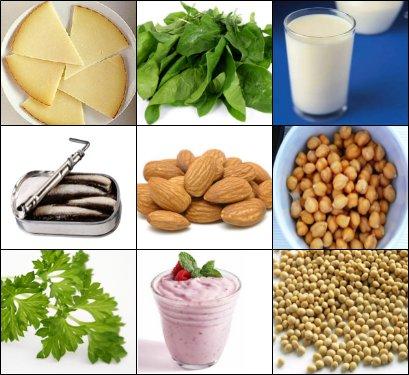El mundo de la alimentacion sana el calcio - Alimentos naturales ricos en calcio ...