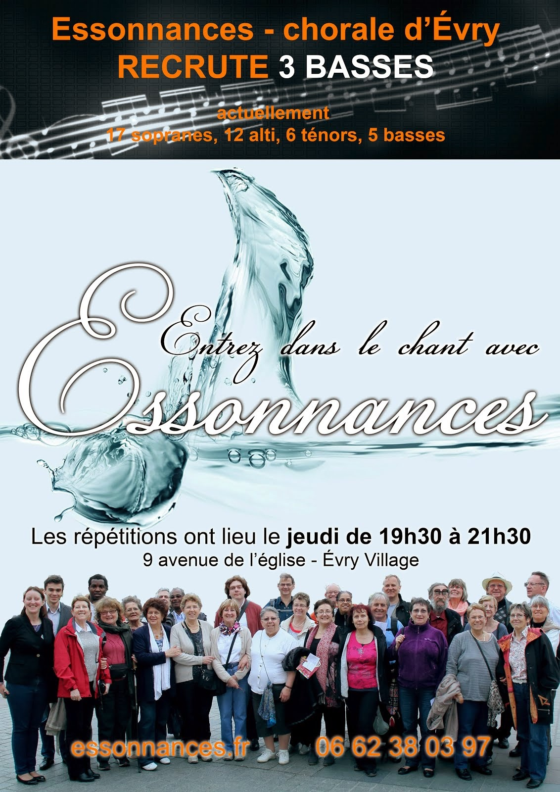 On recrute des basses