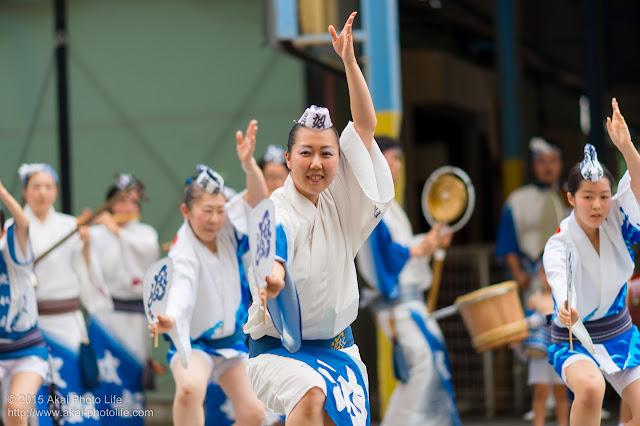 波奴連(はちゃめちゃれん) 小金井プレ阿波おどり 2015