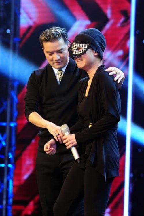 Những giám khảo có thể đoán được Huyền Minh là ca sỹ Anh Thúy ngay trên sân khấu