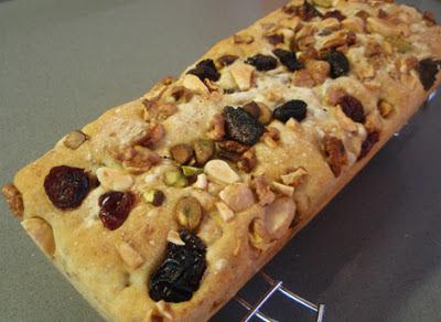 pan de molde con frutos secos
