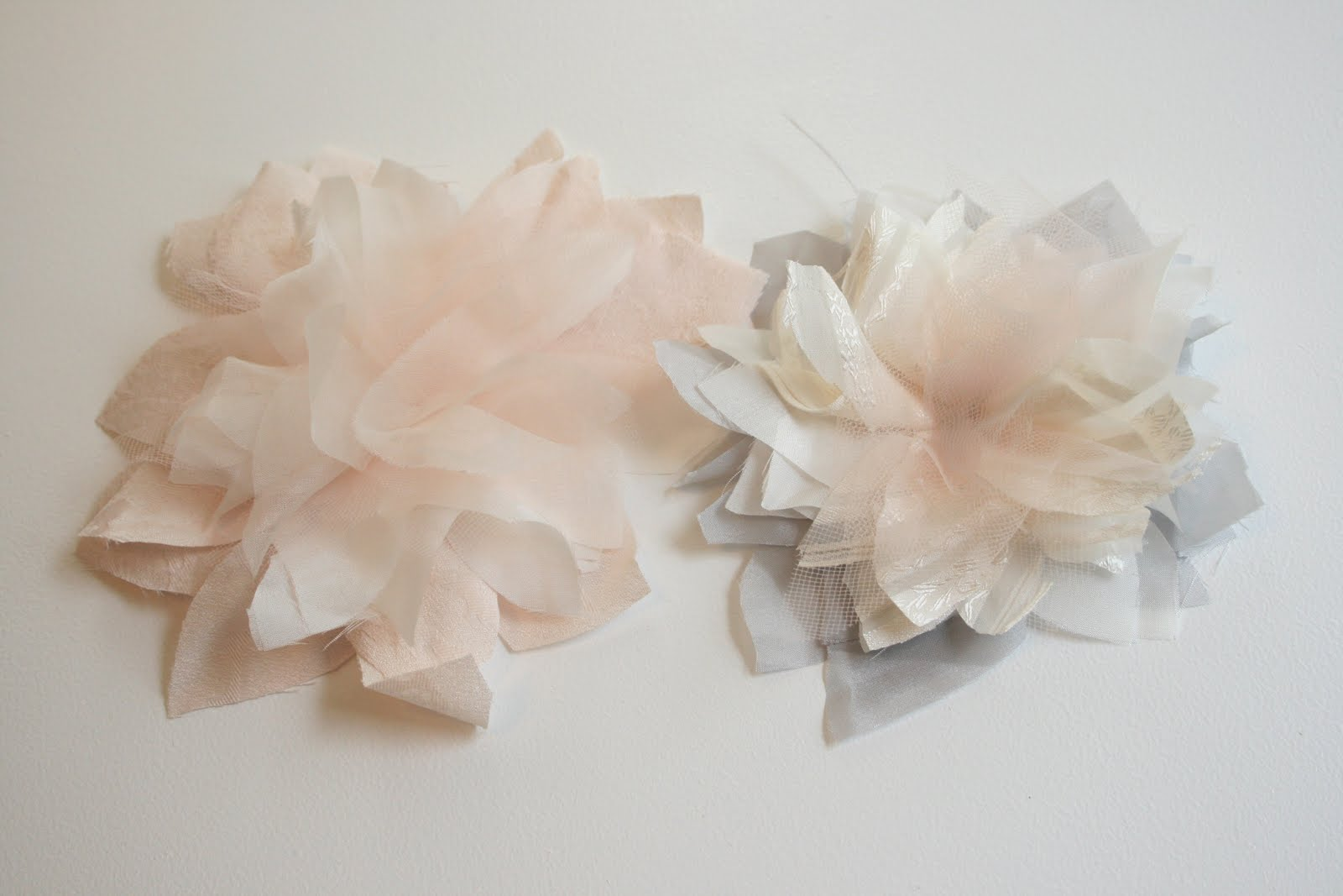 My wedding dress flowers tutorial create enjoy izmirmasajfo