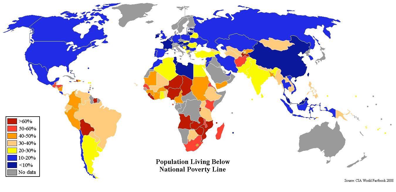 informacion sobre la pobreza mundial: