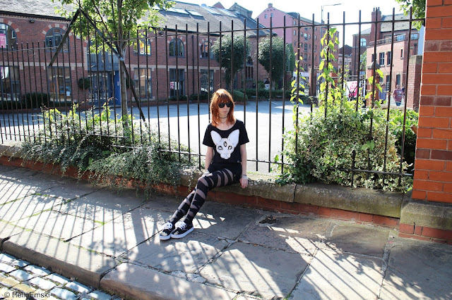 Nugoth outfit, Killstar Outfit, Third Eye Cat Top