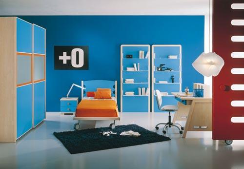 X casas decoracion x dise o de una habitaci n de colores - Colores habitacion nino ...