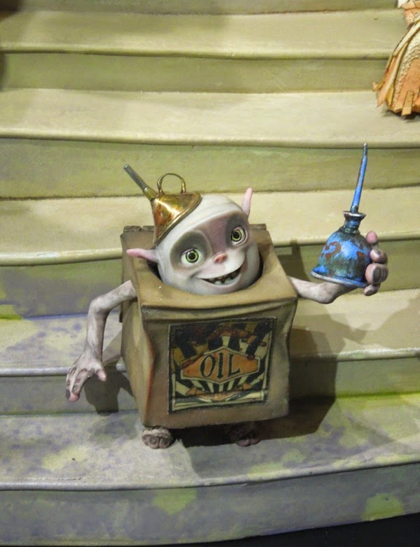 The Boxtrolls stop-motion oil character figure