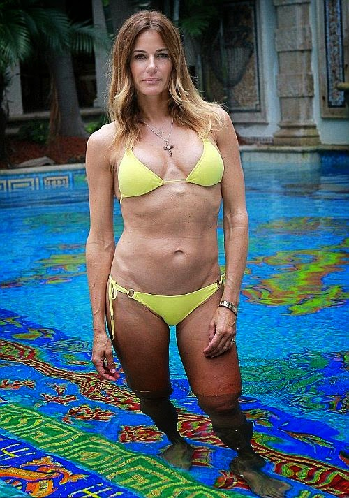 The mother of two has an absolutely stupendous two-piece body at 46-year-old as she posed so deliciously for Ralph Notaro in Miami, FL, USA on Saturday, June 14, 2014.