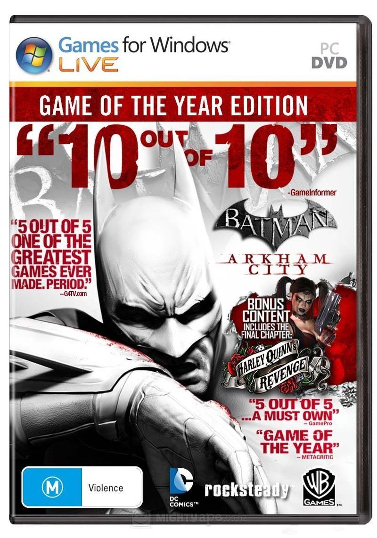 Batman: Arkham City PC Game Download