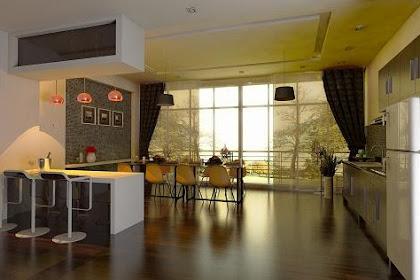 Jasa Desain Interior Ruang Makan Klasik Modern 2014 Mewah