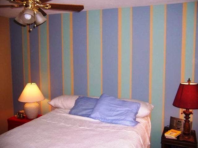 vertical wall stripes painting ideas. Black Bedroom Furniture Sets. Home Design Ideas