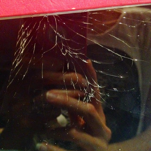 Smashed iPad Screen