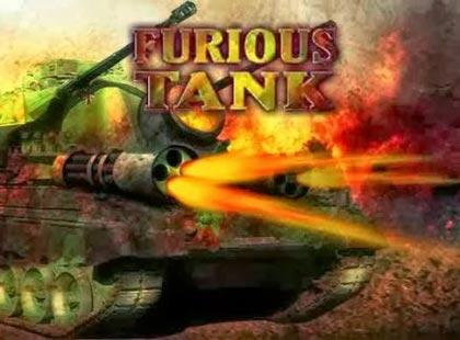 غلاف لعبة حرب الدبابات الغاضبة Furious Tank