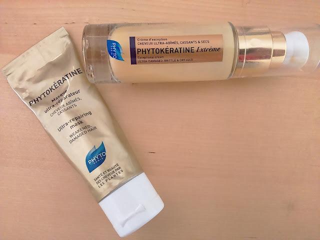 Phyto Phytokeratine Ultra-repairing Mask and Phytokeratine Extreme Exceptional Cream