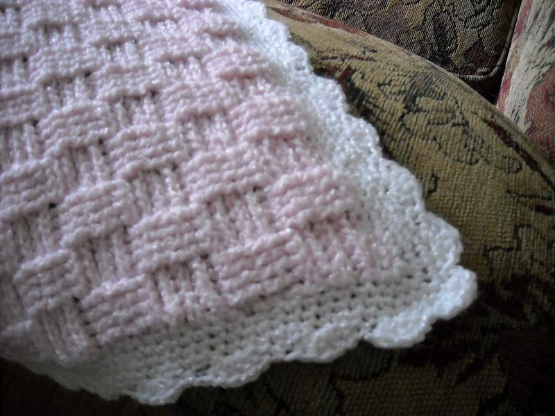 Crochet Baby Blanket Basket Weave Pattern : TwoLuLa: Basket Weave Baby Blankets