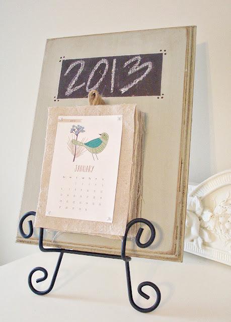 Calendar Tutorial www.adorbymelissa.com