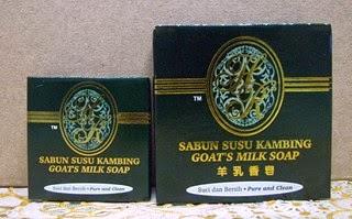 sabun susu kambing HR