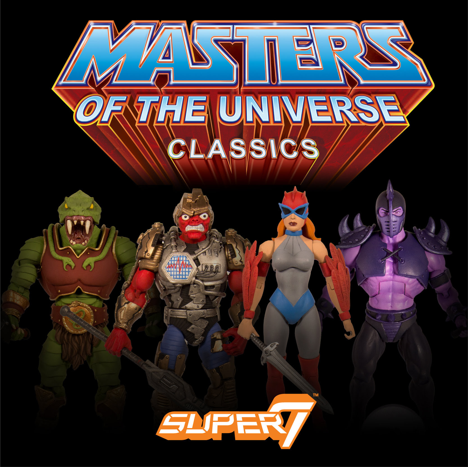 New Masters of the Universe Classics Figures