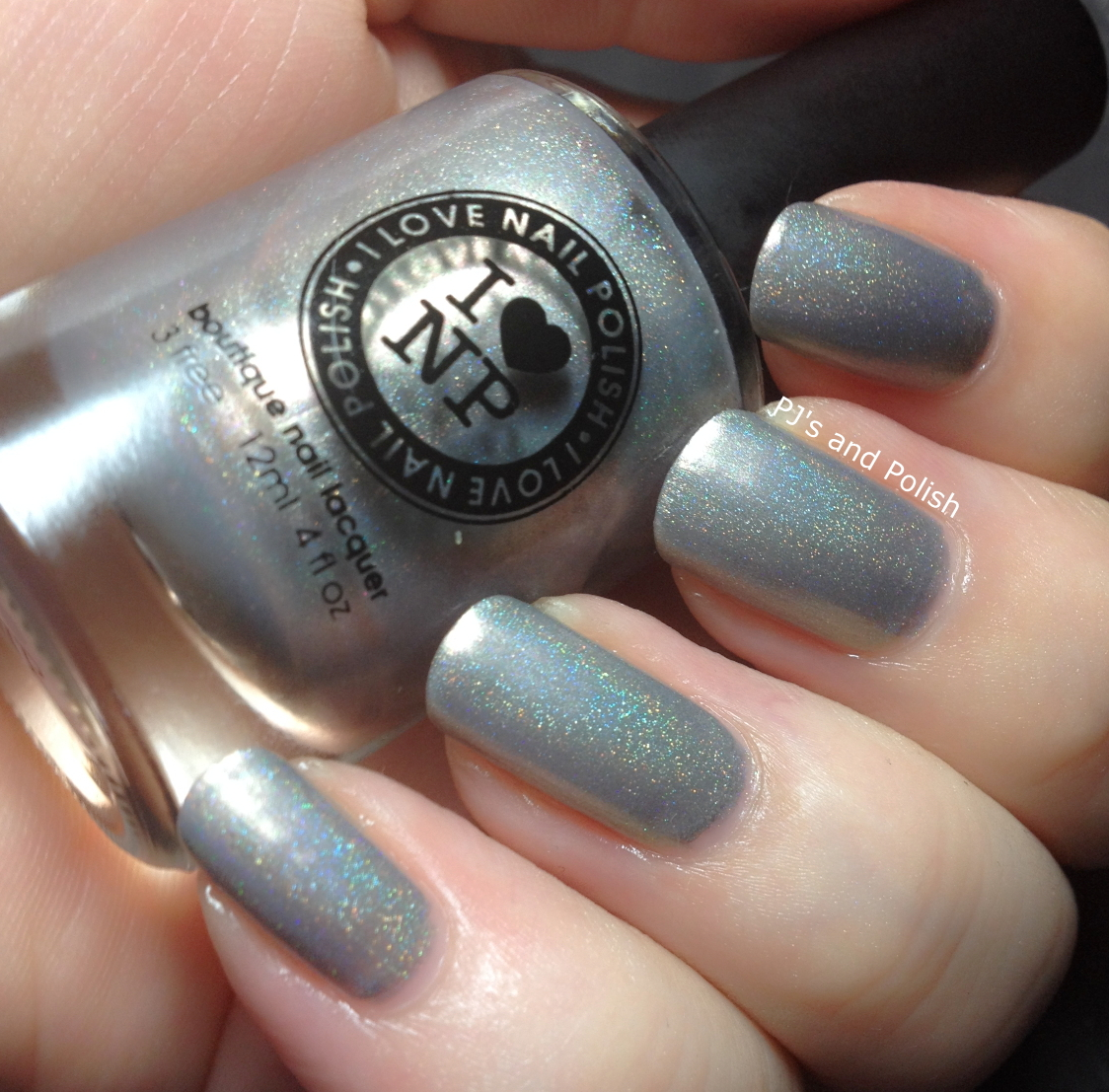 Swatch and Review ILNP Bottle Service Fall 2013 Collection Holo HK Girl