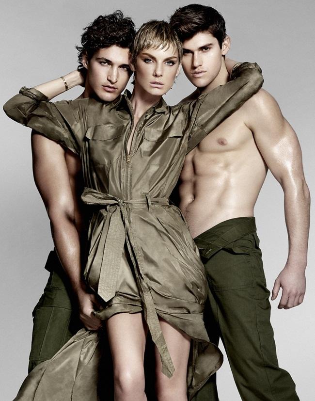 Ralph Lauren Spring 2015 Shimmery Green Metallic Silk Charmeuse Maxi Dress Editorials