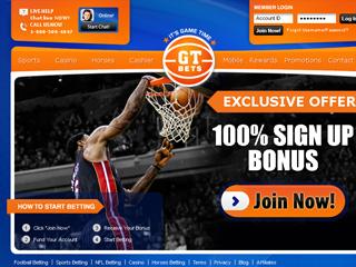 GT Bets Online USA Sportsbook