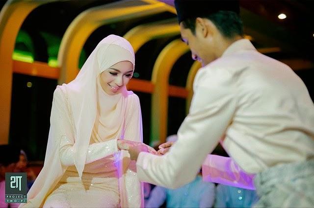 Faralyna Idris & Fikri Selamat Bergelar Suami Isteri