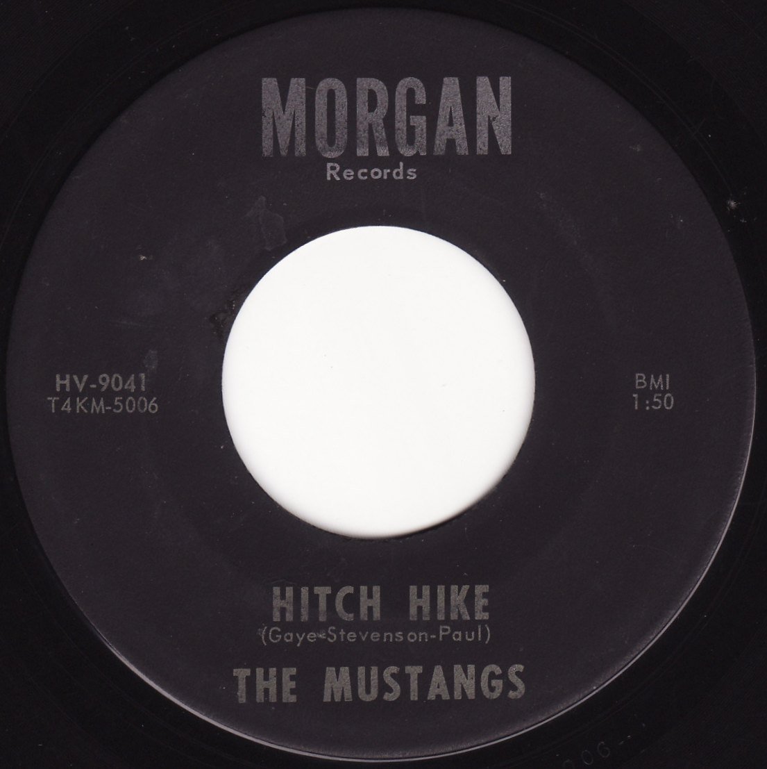 Artyfacts In Wax The Mustangs Morgan