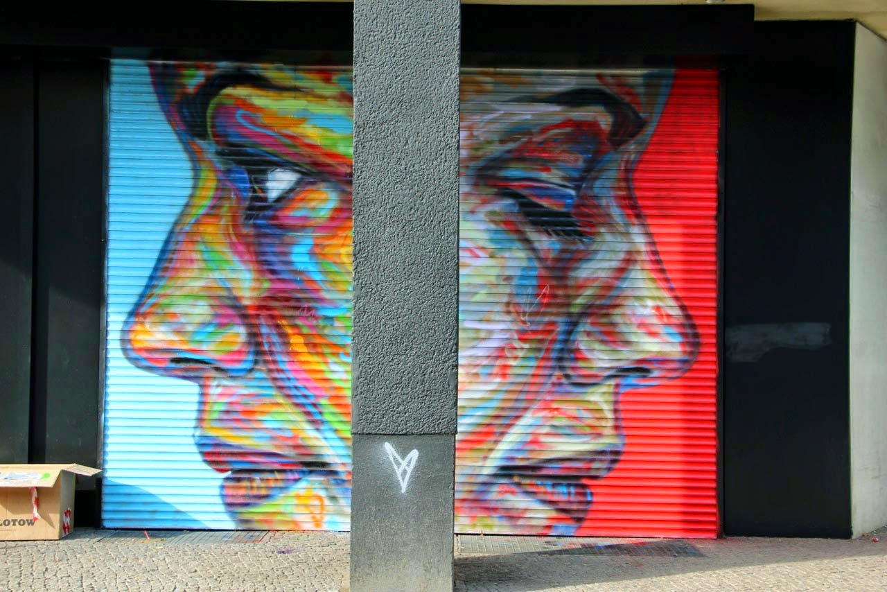 Our friend David Walker spent the last two days working on this new piece for Urban Nation and PM5 in Berlin, Germany.