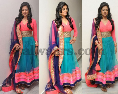 Priyamani Dual Color Latest Salwar