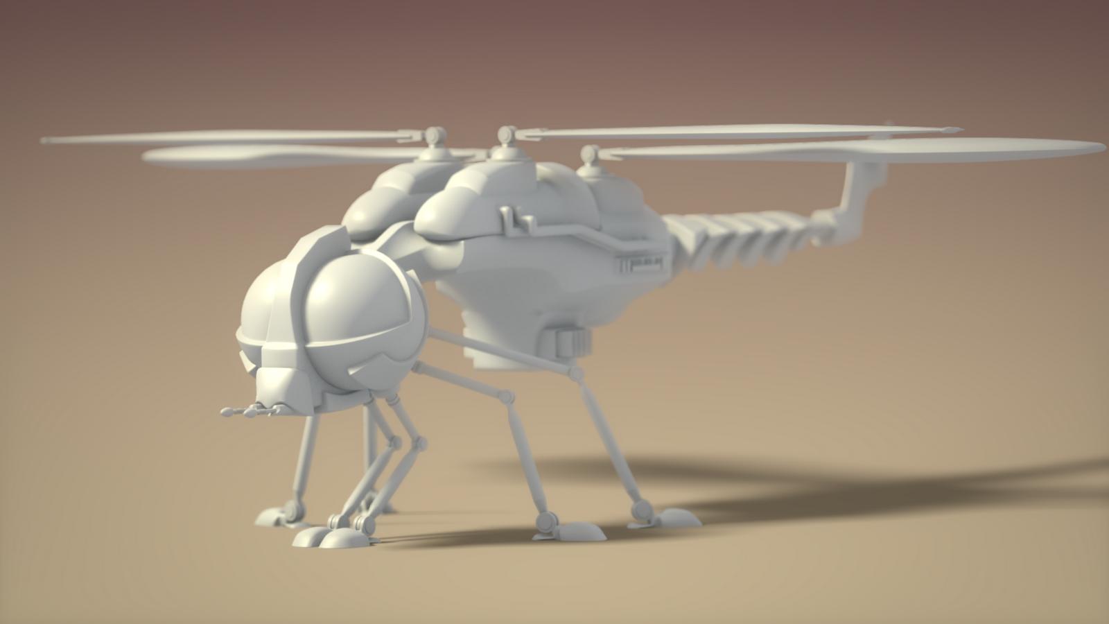 animated spaceship