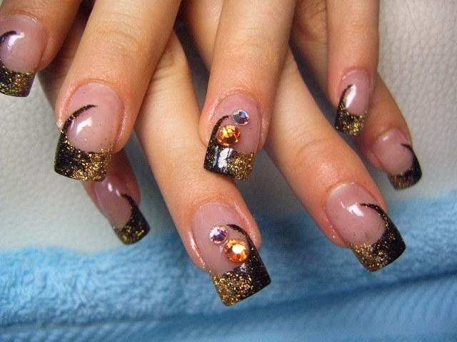 Fall Acrylic Nail Designs