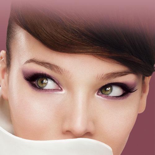 maquillaje de ojos para la noche. Black Bedroom Furniture Sets. Home Design Ideas