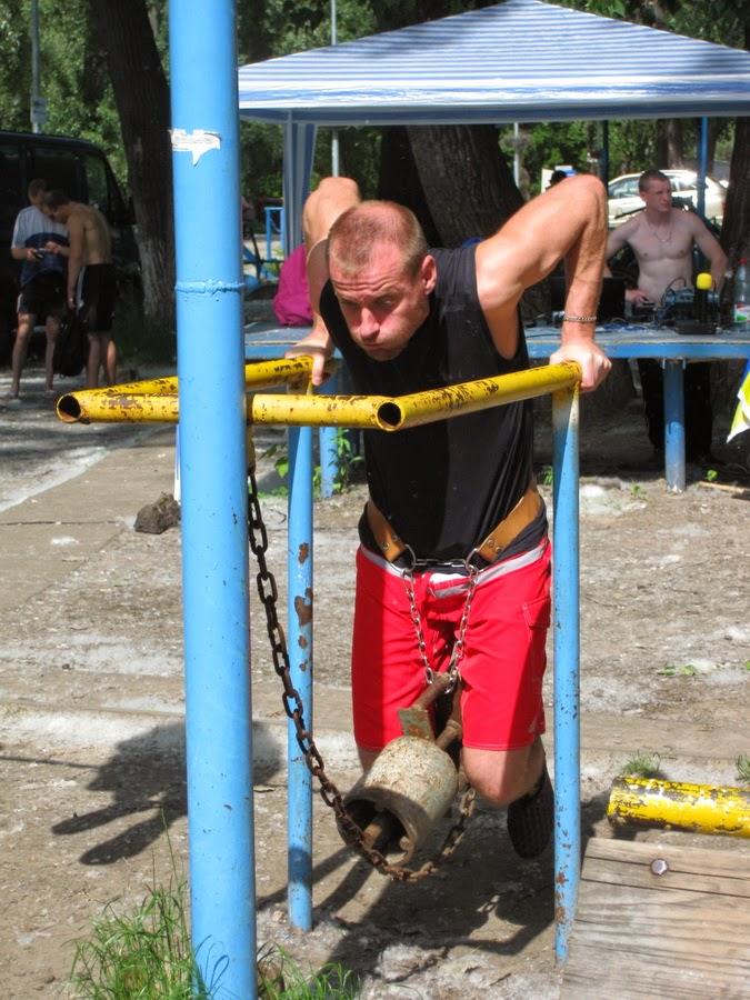 тренировка по Street Workout
