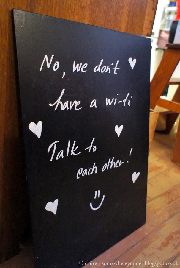 Cafe sign - Helsinki